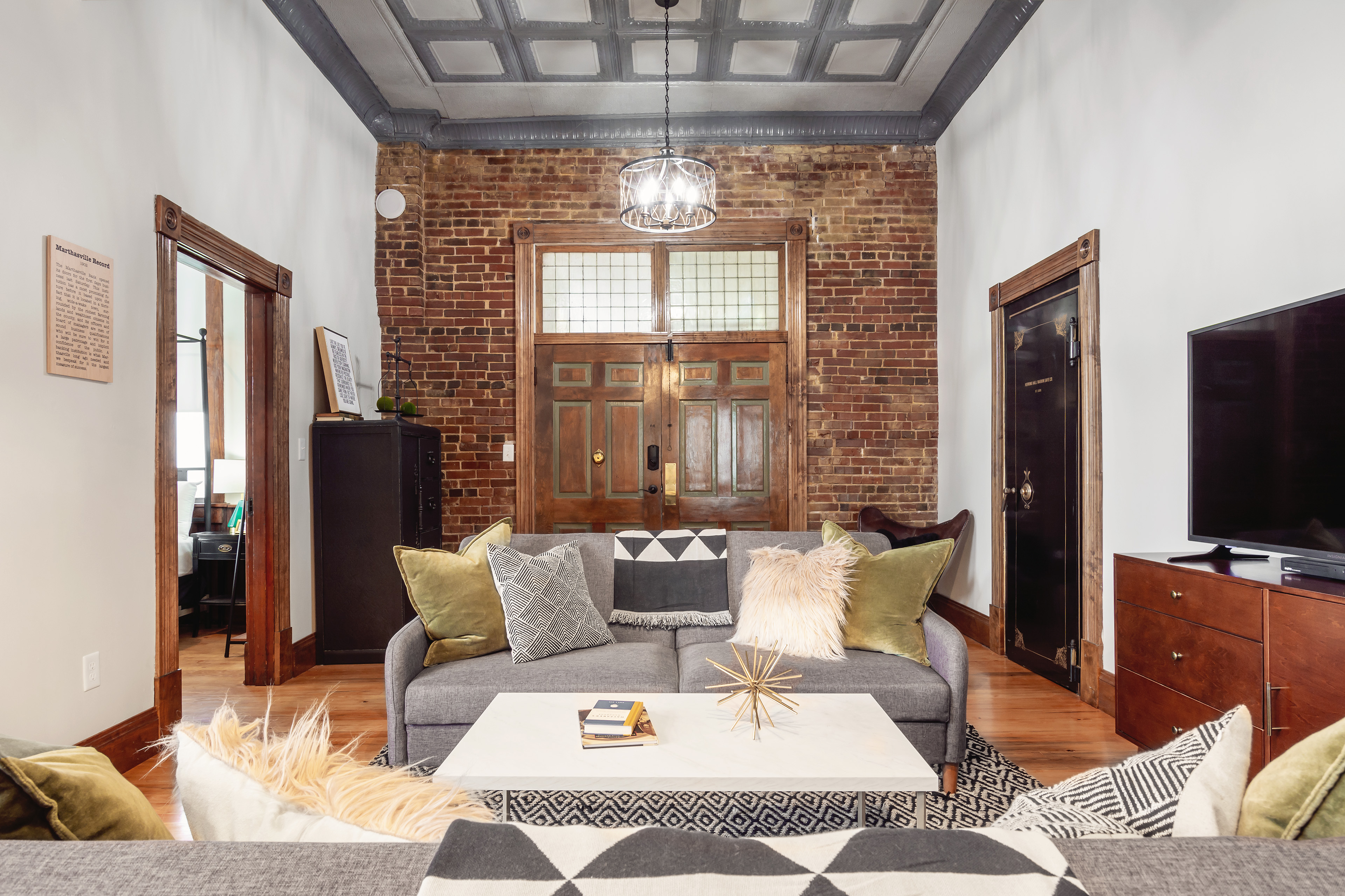 Bank Haus historical vacation rental on the Katy Trail