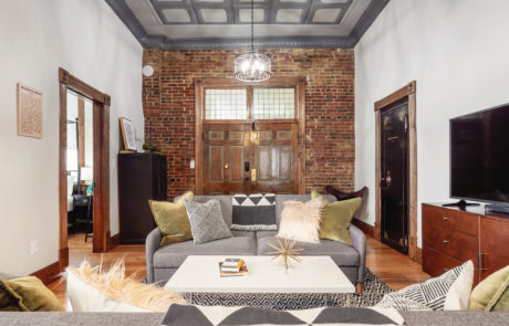 The Bank Haus vacation rental on the Katy Trail in Missouri wine country