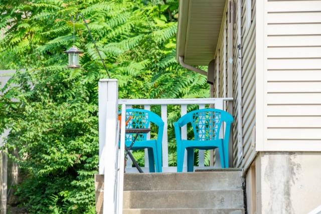 Bird Haus vacation rental on St. Charles Main Street in Missouri