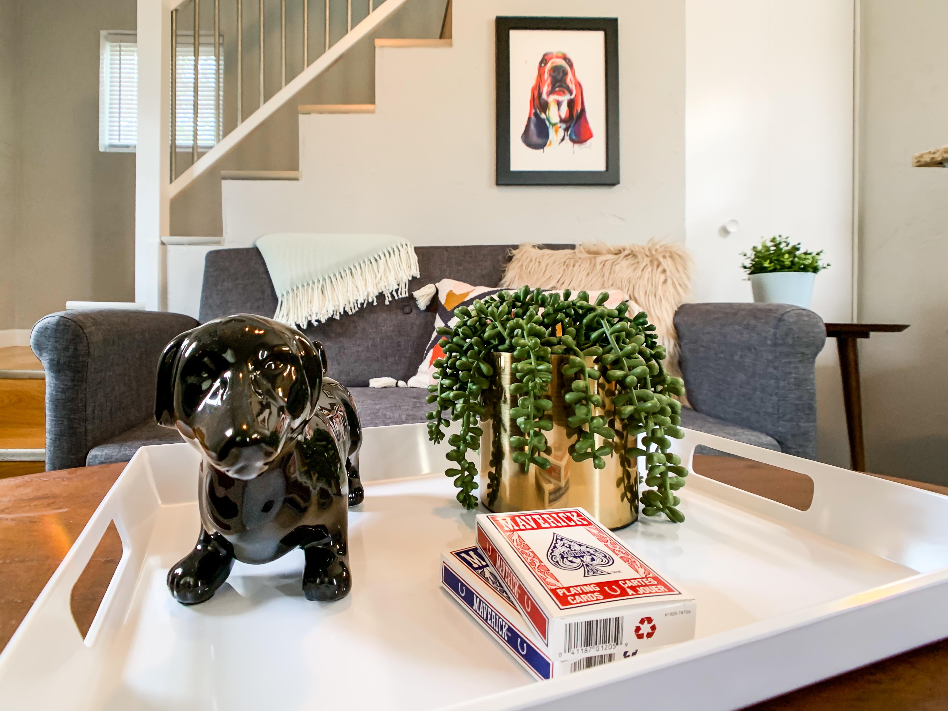 Hound Haus dog friendly vacation rental near Purina Events Center